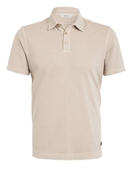 ZZegna Piqué-Poloshirt, Farbe: BEIGE (Bild 1)