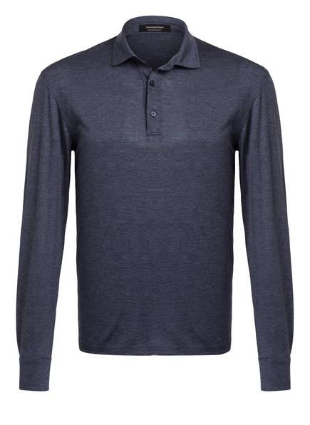 Ermenegildo Zegna Jersey-Poloshirt, Farbe: BLAUGRAU (Bild 1)