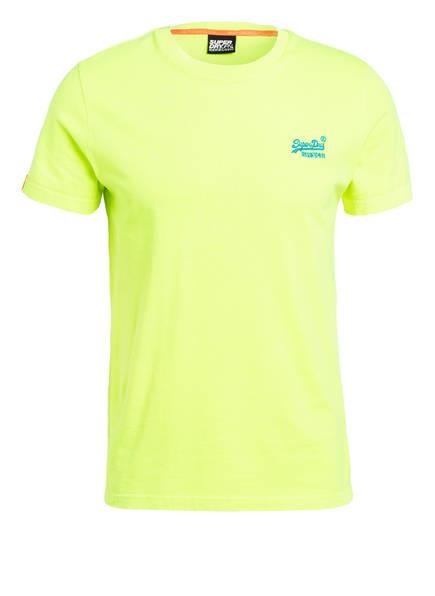 Superdry T-Shirt, Farbe: NEONGELB (Bild 1)