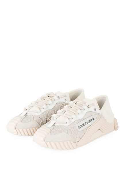 DOLCE&GABBANA Sneaker , Farbe: WEISS/ NUDE/ CREME (Bild 1)
