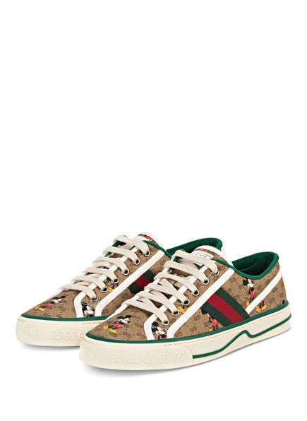 GUCCI Sneaker TENNIS 1977, Farbe: BEIGE/EBONY/ MU/M (Bild 1)