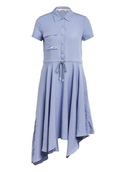 ECOALF Hemdblusenkleid , Farbe: BLAU (Bild 1)