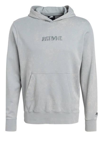 Nike Hoodie JUST DO IT, Farbe: HELLGRAU (Bild 1)