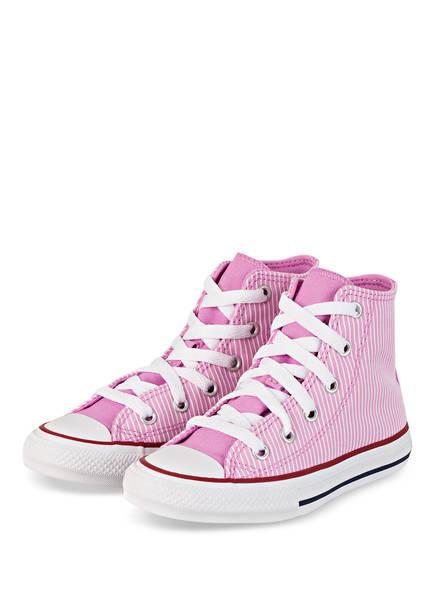 CONVERSE Hightop-Sneaker CHUCK TAYLOR ALL STAR , Farbe: ROSA/ WEISS (Bild 1)