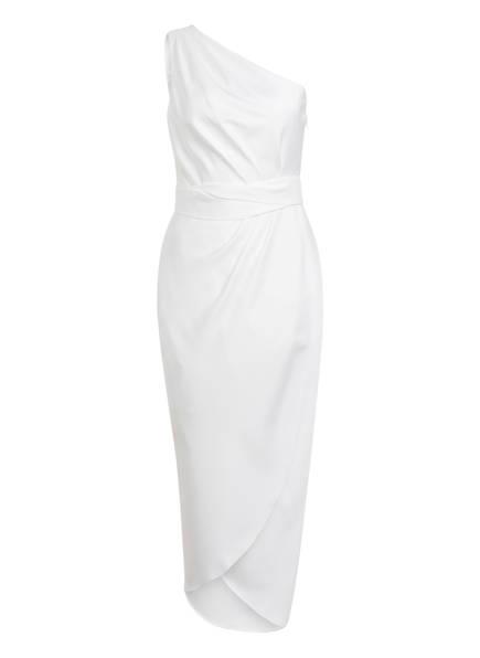TED BAKER One-Shoulder-Kleid GABIE in Wickeloptik, Farbe: WEISS (Bild 1)