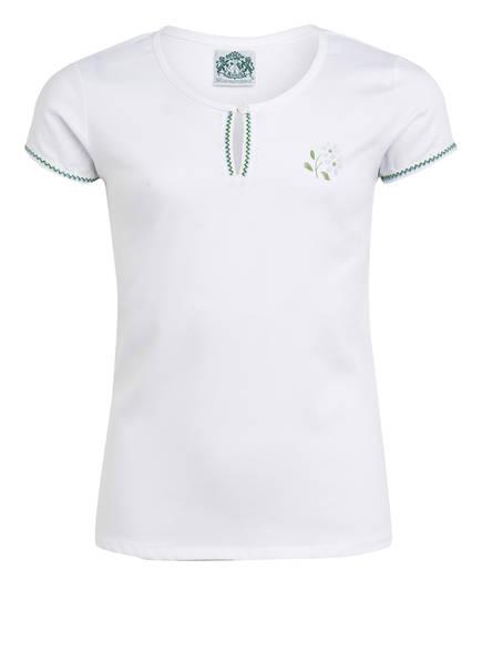 Hammerschmid T-Shirt BLÜMCHEN , Farbe: WEISS (Bild 1)