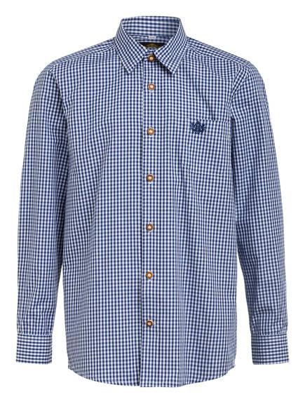 Hammerschmid Trachtenhemd, Farbe: BLAU/ WEISS (Bild 1)
