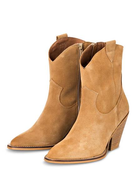 Mrs & HUGS Cowboy Boots, Farbe: CAMEL (Bild 1)