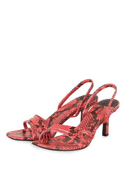 KENNEL & SCHMENGER Sandaletten OLIVIA, Farbe: HELLROT (Bild 1)