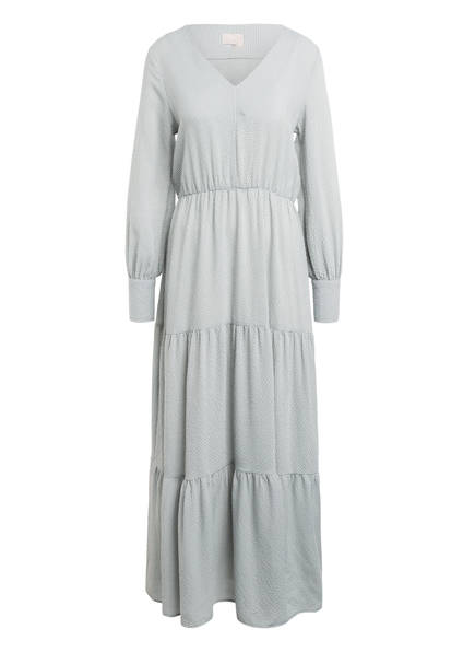 Mrs & HUGS Kleid mit Volantbesatz, Farbe: MINT/ WEISS (Bild 1)