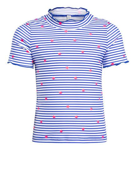 Sanetta Schwimmshirt , Farbe: BLAU/ WEISS/ PINK GESTREIFT (Bild 1)
