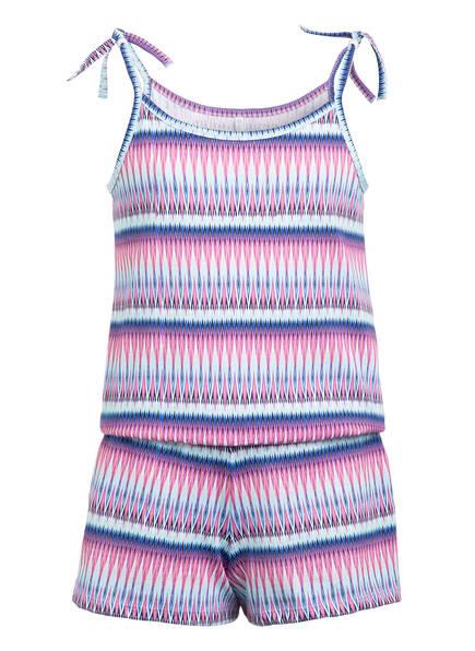 Sanetta Jumpsuit , Farbe: PINK/ HELLBLAU (Bild 1)