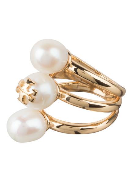 TORY BURCH Ring KIRA PEARL, Farbe: GOLD (Bild 1)