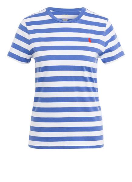 POLO RALPH LAUREN T-Shirt, Farbe: BLAU/ WEISS GESTREIFT (Bild 1)