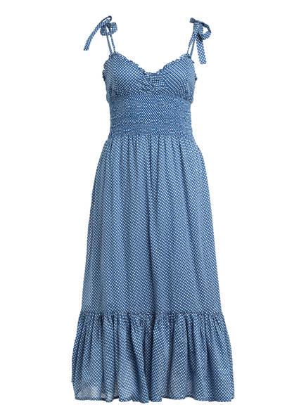 POLO RALPH LAUREN Kleid mit Rüschensaum , Farbe: BLAU/ WEISS (Bild 1)