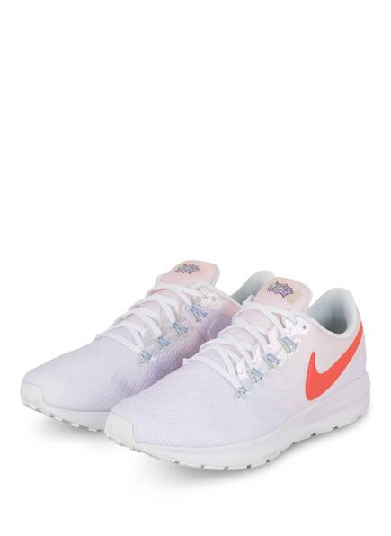 Nike Laufschuhe ZOOM STRUCTURE 22, Farbe: HELLLILA/ HELLORANGE (Bild 1)