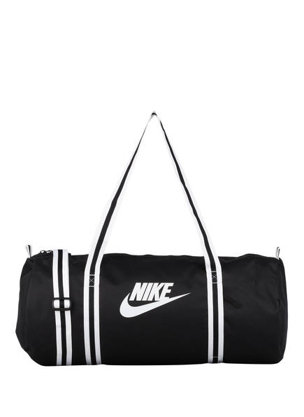 Nike Sporttasche HERITAGE, Farbe: SCHWARZ/ WEISS (Bild 1)