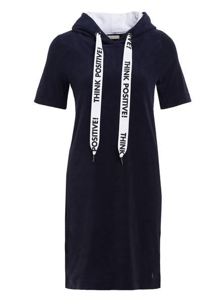 lilienfels Frotteekleid, Farbe: DUNKELBLAU/ WEISS (Bild 1)