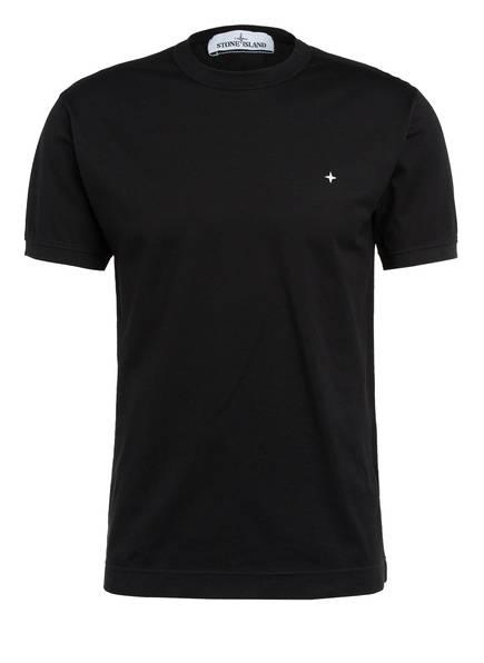 STONE ISLAND Piqué-Shirt, Farbe: SCHWARZ (Bild 1)