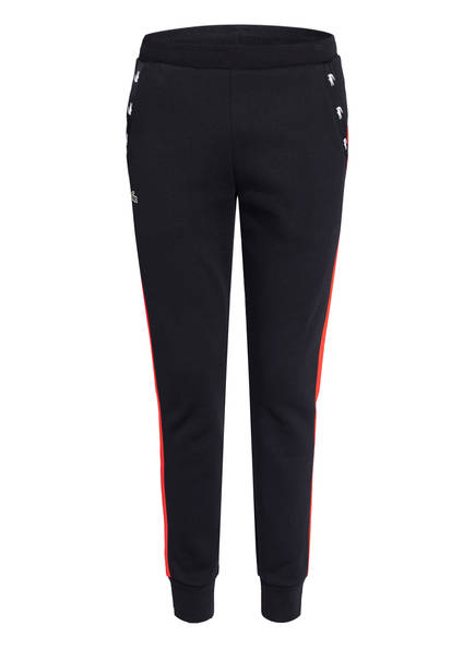 LACOSTE Sweatpants , Farbe: SCHWARZ/ ROT (Bild 1)