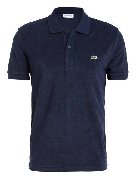 LACOSTE Frottee-Poloshirt Regular Fit , Farbe: DUNKELBLAU (Bild 1)