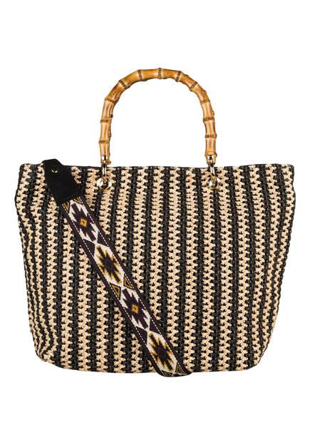 ViaMailBag Shopper TENERIFE, Farbe: BEIGE/ SCHWARZ (Bild 1)