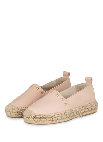 WALK AND LOVE Plateau-Espadrilles, Farbe: ROSA (Bild 1)