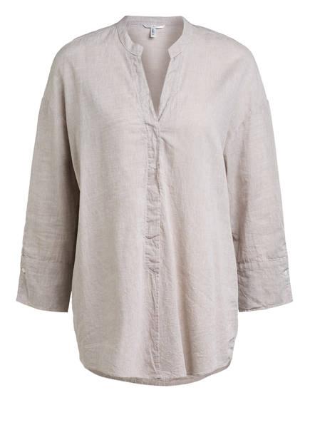 Sophie Oversized-Bluse OPPI mit Leinen, Farbe: BEIGE (Bild 1)