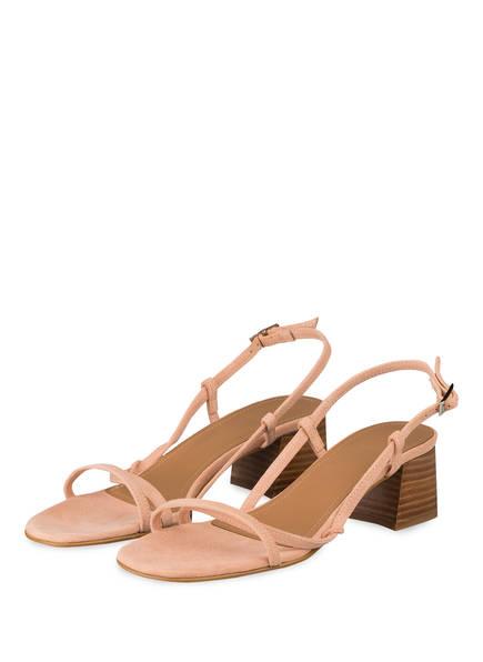 Flattered Sandaletten, Farbe: HELLROSA (Bild 1)