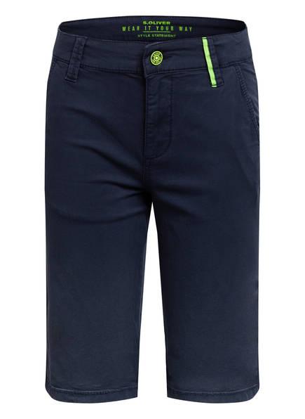s.Oliver Chino-Shorts, Farbe: DUNKELBLAU (Bild 1)