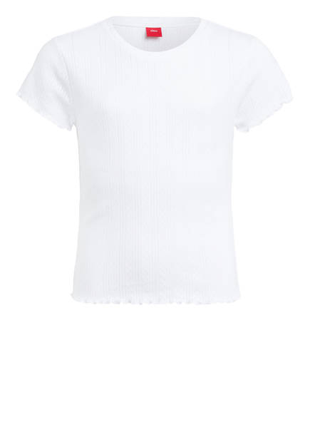 s.Oliver T-Shirt, Farbe: WEISS (Bild 1)