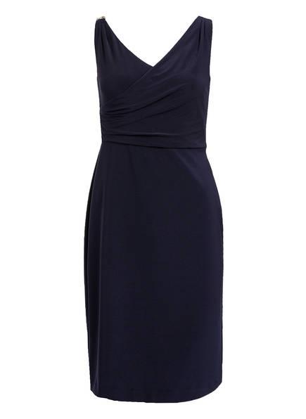 LAUREN RALPH LAUREN Kleid in Wickeloptik, Farbe: DUNKELBLAU (Bild 1)