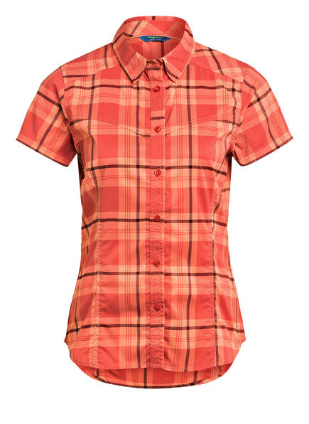 me°ru' Outdoor-Bluse THIVA, Farbe: ORANGE/ ROT (Bild 1)