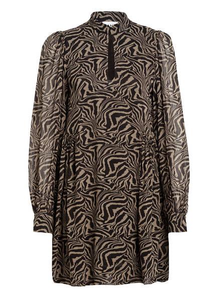 GANNI Kleid, Farbe: KHAKI/ SCHWARZ (Bild 1)