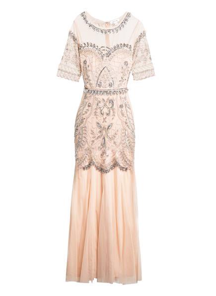 frock & frill Kleid mit Schmucksteinbesatz , Farbe: NUDE (Bild 1)
