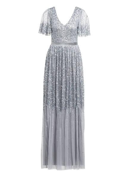 frock & frill Kleid mit Paillettenbesatz, Farbe: GRAU (Bild 1)
