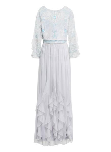 frock & frill Kleid mit Schmucksteinbesatz , Farbe: BLAUGRAU (Bild 1)
