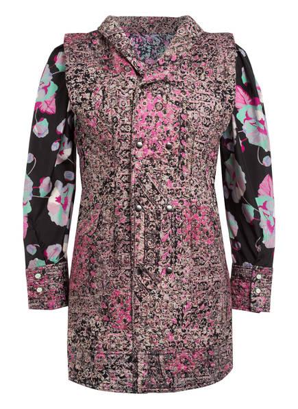 ISABEL MARANT Kleid FINAE, Farbe: PINK/ MINT/ SCHWARZ (Bild 1)