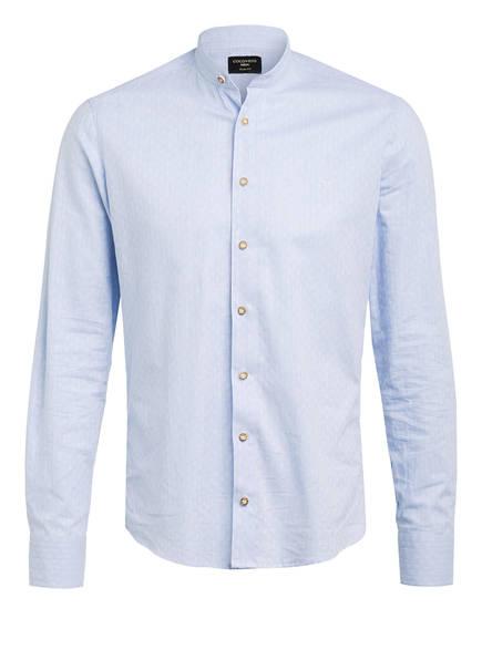 CocoVero Trachtenhemd FINLEY Slim Fit mit Stehkragen, Farbe: HELLBLAU (Bild 1)