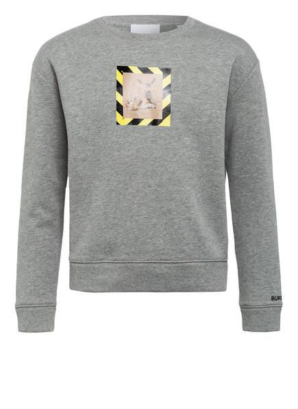 BURBERRY Sweatshirt, Farbe: GRAU MELIERT (Bild 1)