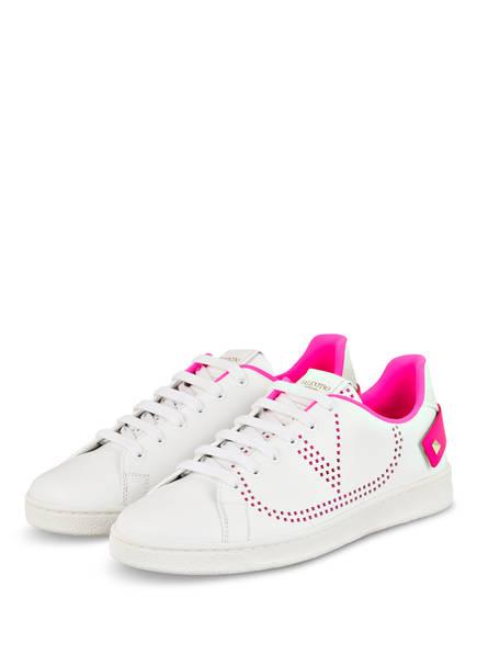 VALENTINO GARAVANI Sneaker BACKNET , Farbe: WEISS (Bild 1)