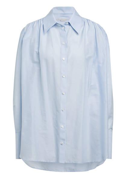 STELLA McCARTNEY Oversized-Hemdbluse LEONA, Farbe: HELLBLAU (Bild 1)