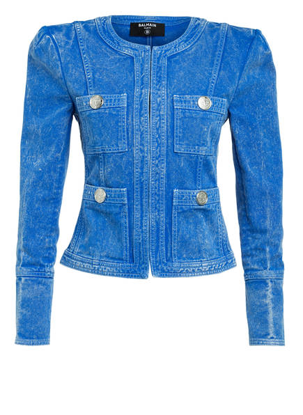 BALMAIN Jeans-Blazer, Farbe: BLAU (Bild 1)