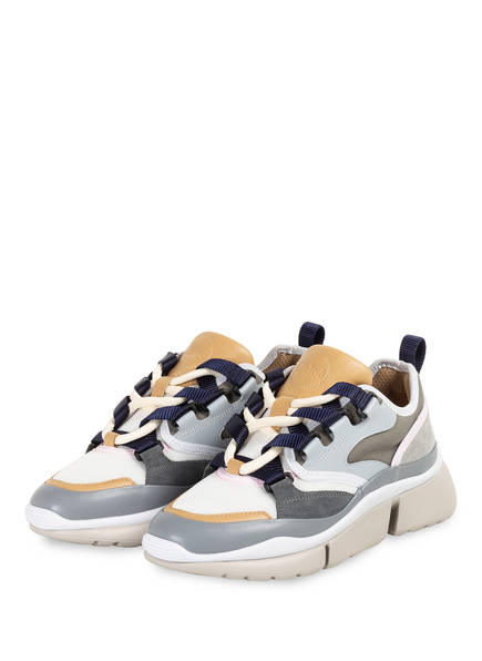 Chloé Plateau-Sneaker SONNIE, Farbe: ELEPHANT GREY (Bild 1)