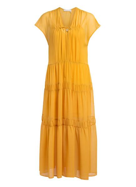 SEE BY CHLOÉ Kleid, Farbe: DUNKELGELB (Bild 1)