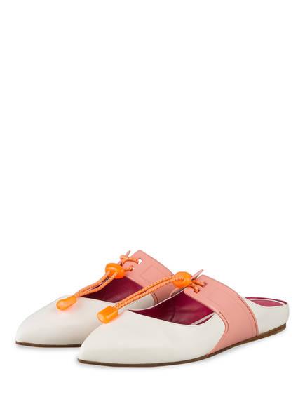 181 Slipper CURRY, Farbe: ECRU/ ROSA (Bild 1)