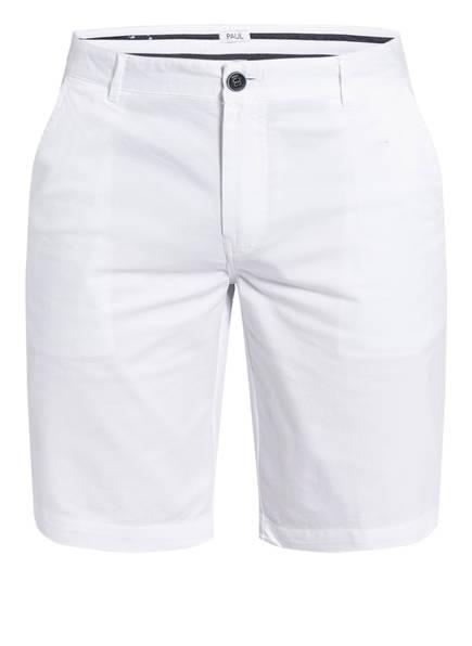 PAUL Chino-Shorts Slim Fit, Farbe: WEISS (Bild 1)