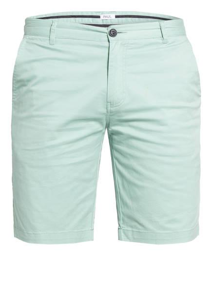 PAUL Chino-Shorts Slim Fit, Farbe: MINT (Bild 1)