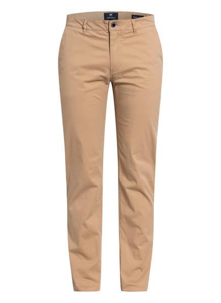 STROKESMAN'S Chino Slim Fit, Farbe: HELLBRAUN (Bild 1)