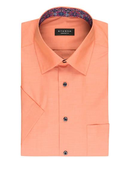 ETERNA Halbarm-Hemd Comfort Fit, Farbe: HELLORANGE (Bild 1)